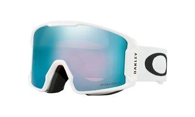 b469721e8c8f Oakley Line Miner (Asian Fit) White Prizm Sapphire Snow Goggle OO7080-04