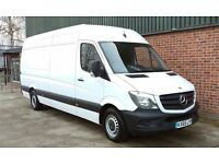 Mercedes-Benz Sprinter 313cdi LWB High Roof White Panel Van