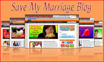Save My Marriage Blog Self Updating Website With Clickbank Amazon Adsense Pages