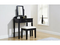 2 COLOURS, BRAND NEW SHAKER DRESSING TABLE WITH STOOL AND MIRROR! DELIVERY AVAILABLE!!