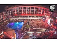 Ibiza Rocks Holiday 27th July- 3rd August X2 people