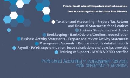 COMPANY SETUP / PAYROLL / BAS / YEAR END ACCOUNTS  Pyrmont Inner Sydney Preview