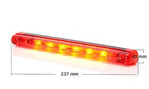 LED Bremsleuchte Bremslicht Zusatz - Stoplicht Rot 12/24V Nr 682 - Wroclaw, Polska - Zwroty są przyjmowane - Wroclaw, Polska