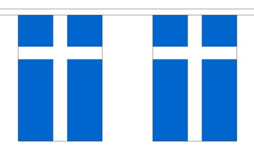 Scotland Shetland Sealtainn Polyester Flag Bunting - 9m long with 30 Flags
