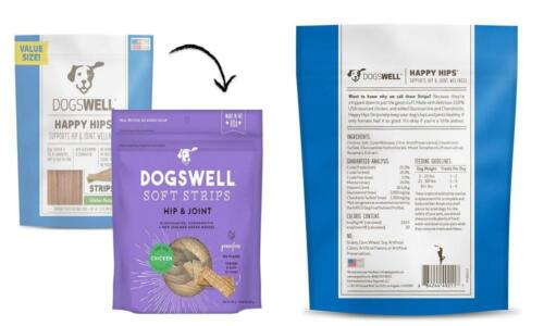 Dogswell 100 Meaty Soft Treats For Dogs, Made In The USA With 20oz.  - $29.75
