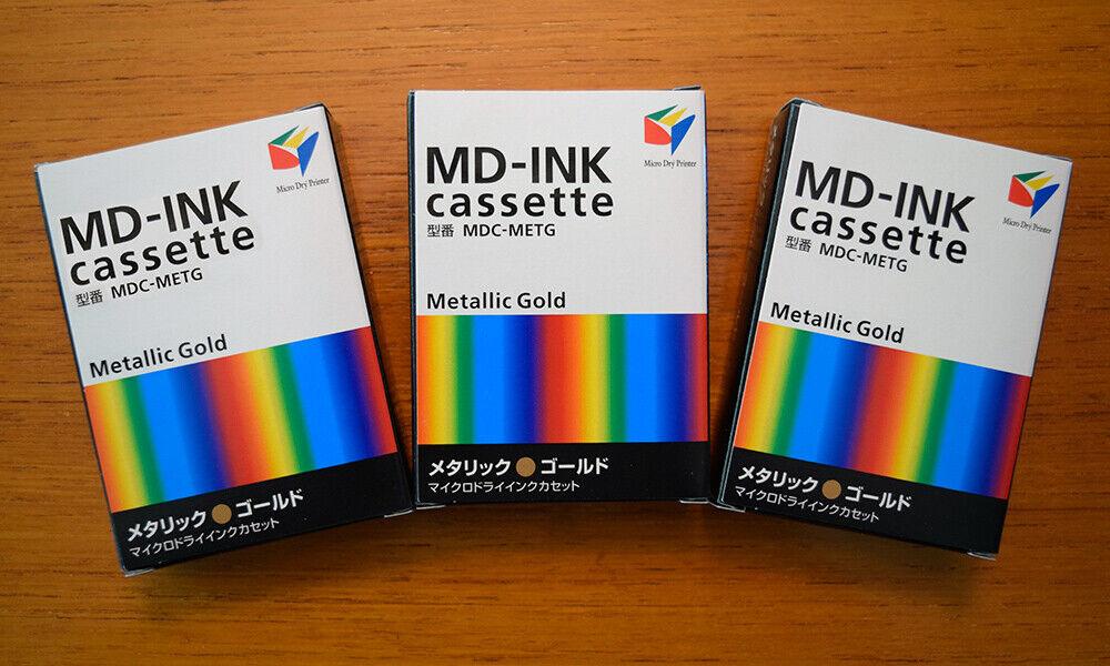 Alps MD Metallic Gold Printer Ink MDC-METG /106030-00