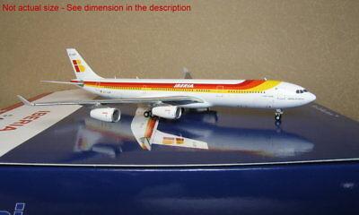 Gemini Jets 1 400 Iberia A340 300 Ec Gup Gjibe1630 Diecast Metal Plane
