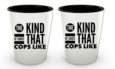 Police Officer Gifts Man Women | Funny Policeman Cop Shot Glasses Birthday Party](Funny Shot Glasses)