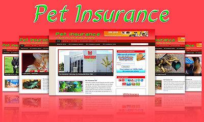Pet Insurance Blog Self Updating Website Clickbank Amazon Adsense Affiliates