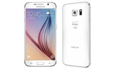 "Samsung Galaxy S6 Smartphone 5,1"" Touch-Display, 32GB Speicher, Android 5.0 weiß segunda mano  Embacar hacia Spain"