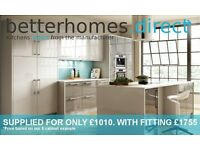 THE BEST VALUE HIGH GLOSS KITCHEN IN SCOTLAND - AVAILABLE FOR A LIMITED TIME ONLY