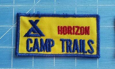 HORIZON CAMP TRAILS BIKING TRAILS ADVERTISING PATCH