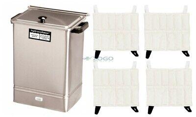 Chattanooga Hydrocollator E1 Heating Unit w/ 4 Standard Hotpac's REF:2102 E1 Hydrocollator Heating