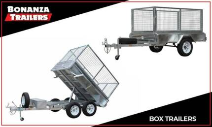 Box Trailers - Galvanised, Heavy Duty, Various Sizes Newcastle Area Preview