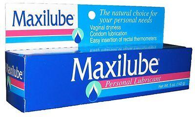 Maxilube Non-staining Personal Lubricant. No Loss of Sensitivity 5 Oz