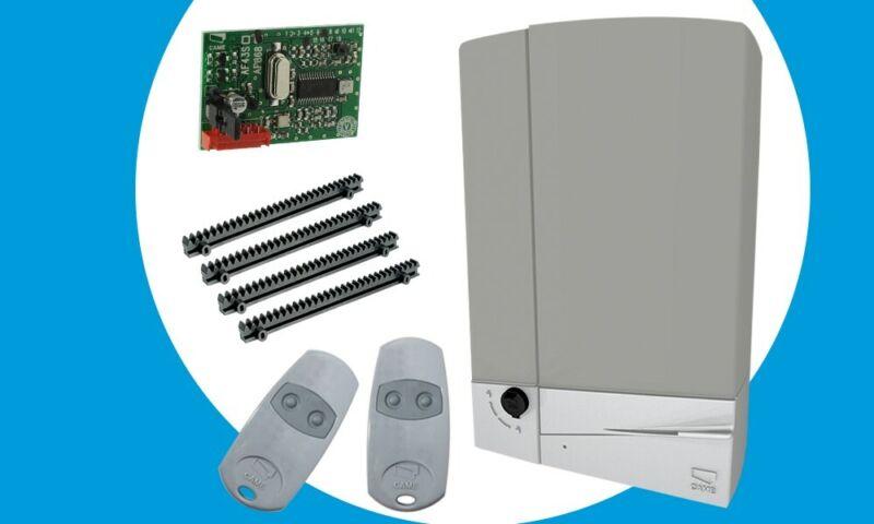 CAME Gate Opener Kit Rack Pinion 880 LB Sliding Operator Residential