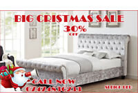 BRAND NEW DOUBLE SLEIGH BED SET IN CHEAPER PRICE/COMPETITION TIME/LOW PRICE lE