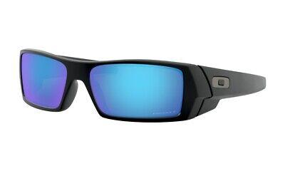 Oakley Sonnenbrille Gascan Matte Black Polarisiert Ice Iridium Spiegelglas