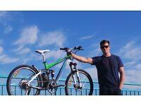 Longwise 36v electric bike