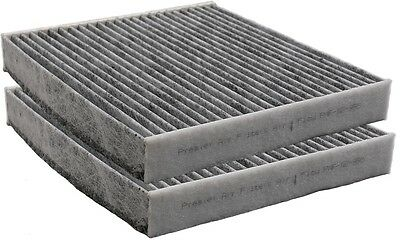 Toyota Carbon Charcoal Cabin Air Filter Fits OEM 87139-07010, 87139-YZZ10, YZZ08