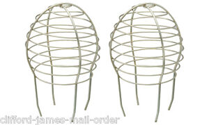 2 Metal Gutter Balloon Filters Guard Filter Stops Blockage Leaves Down Pipe