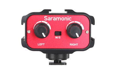 SARAMONIC SR-AX100 ADATTATORE AUDIO  X FOTOCAMERE E VIDEOCAMERE