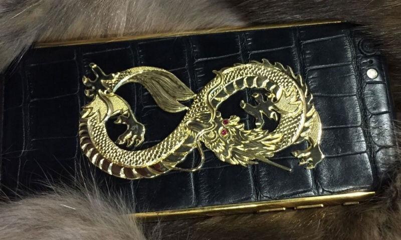 Das exklusive Drachen-iPhone ist mehrere Tausend Dollar wert. (©  perfectsteward)