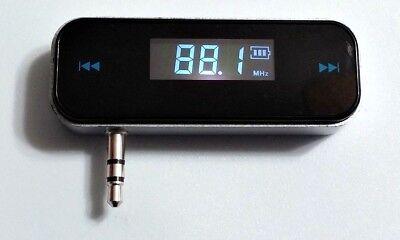 Smartphone Audio MP3 Wireless Broadcaster FM Stereo For Audi BMW Benz Porsche VW