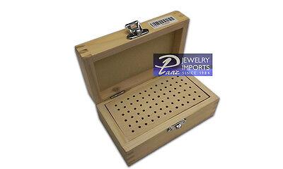 Wooden Bur Box 72 Slots
