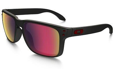 Oakley Men's Mirrored Holbrook Oo9102-36 Black Square Sunglasses