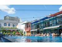 Full time waiting staff required at the Lido