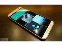 UNLOCKED HTC ONE M8 16 GB 4G LTE IN GOLD