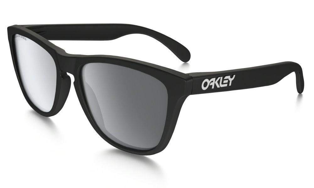 Oakley Shades Frogskins Covert Matte Black Black Iridium Polarized glasses Skateboard Surf Bmx Sunglasses FREE POST eyewear