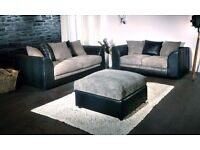 brand new fabric jumbo cord sofa sets