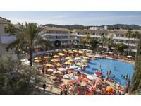 All inclusive holiday Magaluf Majorca for 3 adults 18-28 September flying from Bristol