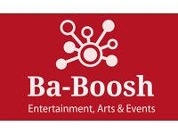 Ba-Boosh Entertainment, Arts & Events