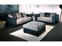 brand new fabric jumbo cord sofa sets