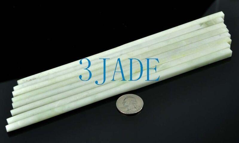 4 Pairs of Natural Stone / Chinese Lantian Jade Chopsticks, wholesale