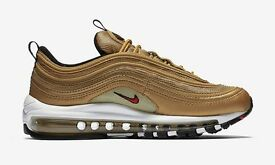 air max 97 golden bullet size 6 and 7 new