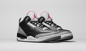 Air Jordan 3 OG Retro Black Cement (2018)