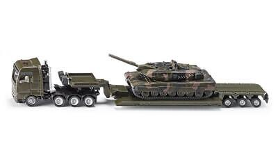Siku 1872 Tieflader mit Panzer - Siku Super 1:87 NEU/OVP