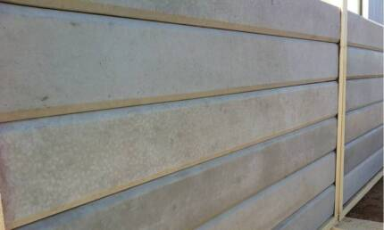 STEEL UPRIGHTS FOR CONCRETE SLEEPER RETAINING WALL INSTALLATION Oaklands Park Marion Area Preview