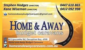 HOME AND AWAY BUDGET CARAVANS - AFFORDABLE QUALITY VANS Deception Bay Caboolture Area Preview