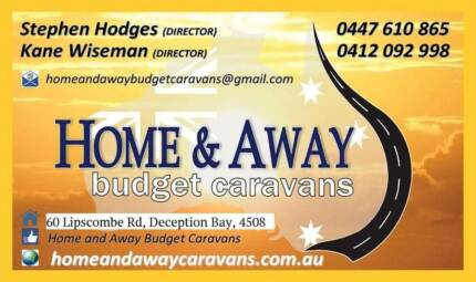 HOME AND AWAY BUDGET CARAVANS - AFFORDABLE QUALITY VANS