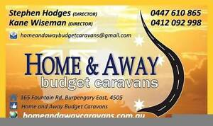 HOME AND AWAY BUDGET CARAVANS - quality vans from $6,000 Burpengary Caboolture Area Preview