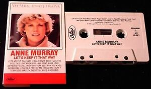 Anne-Murray-Lets-Keep-It-That-Way-1978-10-track-CASSETTE-TAPE