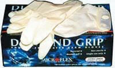Microflex Diamond Grip Latex Gloves Size Extra Large  Case