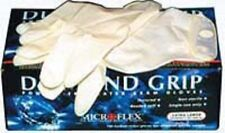 Microflex Diamond Grip Latex Gloves Size Medium Case