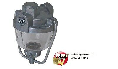 Fuel Gas Sediment Bowl Assembly John Deere 1010 Diesel 2010 Gas Dsl Tractor