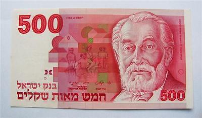 1968 Israel 5 Lirot banknote Albert Einstein Red Serial # P34B UNC combine free